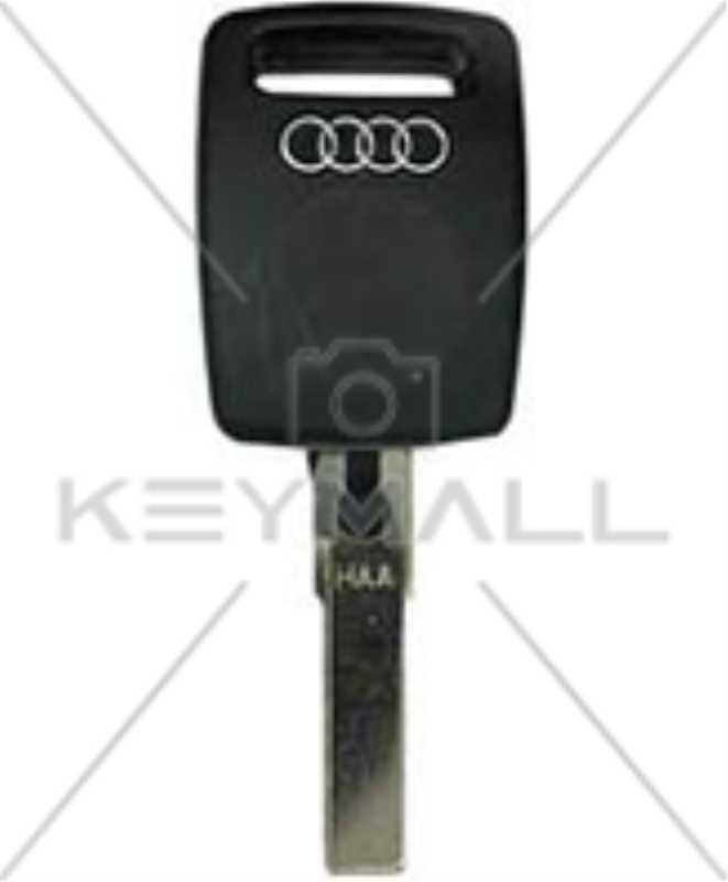 Llave Hueca Audi Logo Cromado