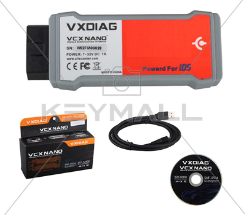 VXDIAG VCX NANO PARA FORD Y MAZDA