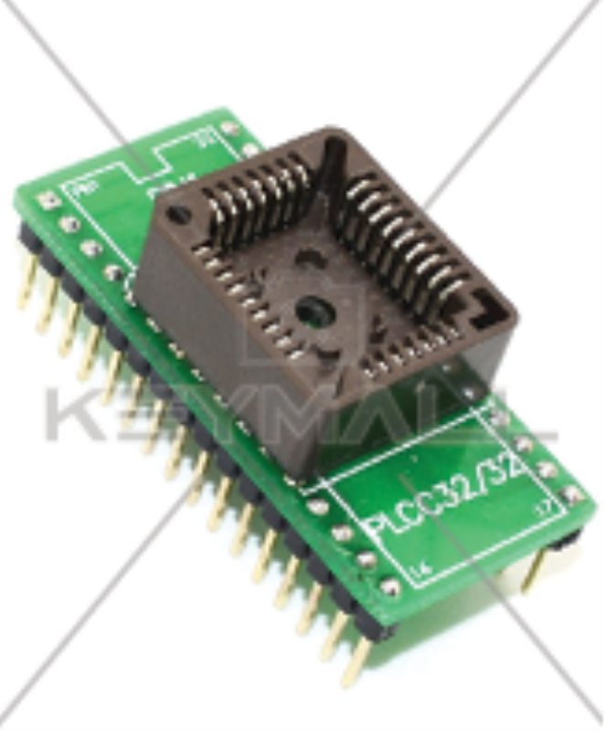 Adaptador Para Programador Eprom Eeprom Flash Minipro Tl866 16 Patas